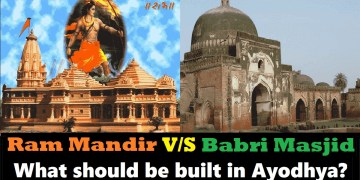 Picture about Vote for Ram Mandir or Babri Masjid to be Built in Ayodhya, Poll