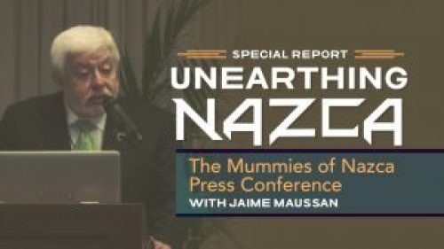 Picture: Unearthing Nazca with Jaime Maussan
