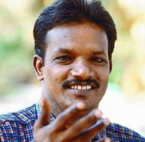 Picture: Babu Kalayil, who claims to have ESP powers