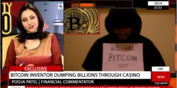 Picture about Bitcoin Inventor Giving Away Billions Through Casino