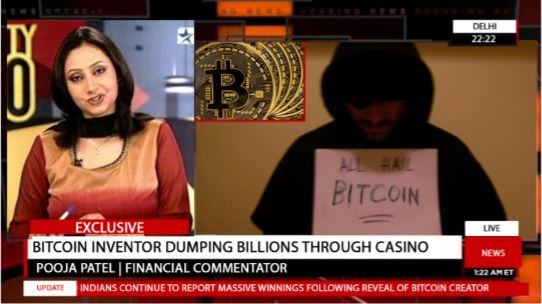 Bitcoin Inventor Giving Away Billions Through Casino: Fact Check