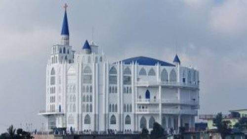 Picture of Sumi Baptist Church in Nagaland