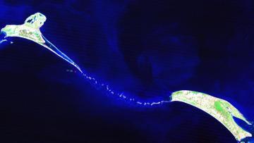 Picture about Ram Setu Bridge Man-Made or Natural