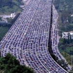 Picture of World's Longest Traffic Jam in China