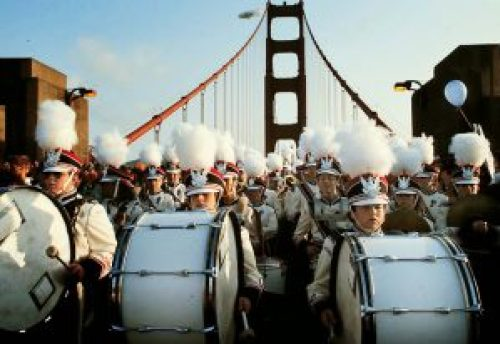 Image of Golden Gate Bridge 50 Years Celebration in 1987