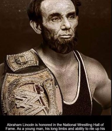 Abraham Lincoln Wrestler Inducted into WWE Hall of Fame: Fact Check