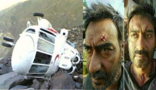 Image Suggesting Ajay Devgan's Helicopter Crashed Near Mahabaleshwar