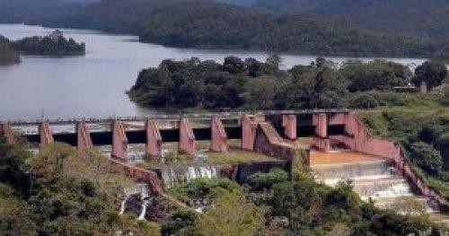 Image of Mullaperiyar Dam in Kerala
