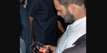 Image about Rahul Gandhi Watching Porn on His Smartphone