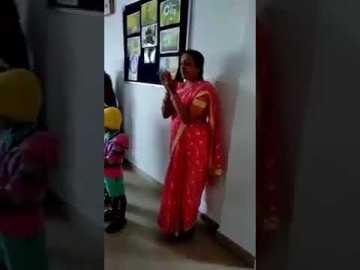 Image about School Teacher Teaching Namaz to Hindu Children in Karnataka