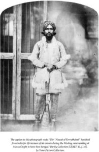 Image of Tafazzul Husain Khan, the Nawab of Farrukhabad