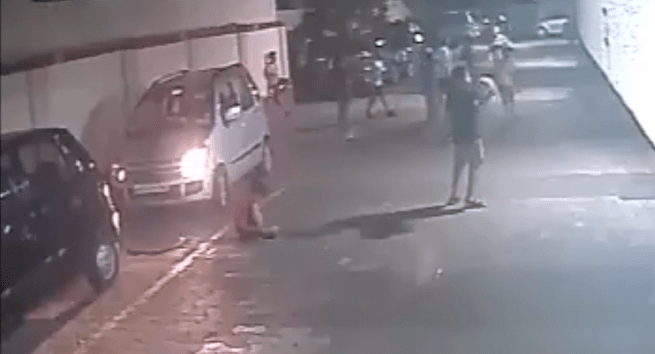 Image about Car Runs Over Kid Unharmed, Miraculous Escape in India