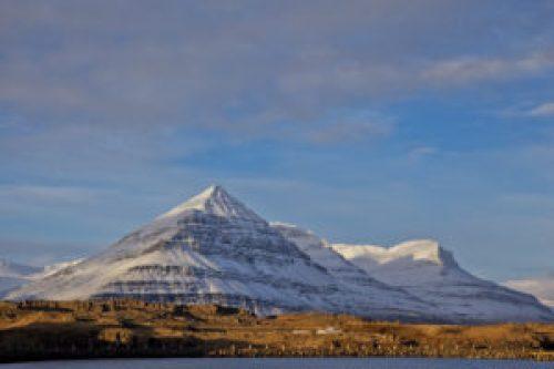 Image of Mt. Bulandstindur in Iceland