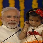 Image about Narendra Modi Asking Child to Say Rahul Gandhi Pappu