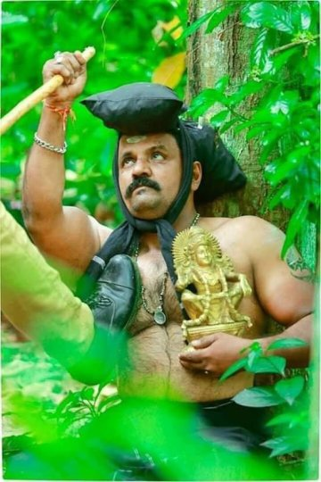 About Picture of Police Brutality on Sabarimala Devotee
