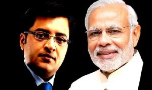 Image about Arnab Goswami Letter to Modi 'We Don't Deserve a Person Like You'