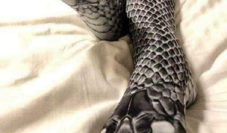 Husband Mistakenly Beats Woman Wearing Snake Stockings: Fact Check