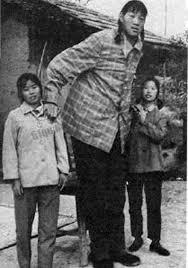 Image of World's Tallest Woman Ever Zeng Jinlian