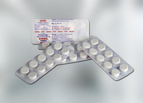 Image of Aeknil Paracetamol 500 Tablets