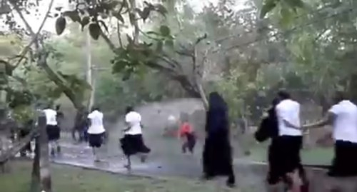Image of Ragging incident in a Sri Lanka College