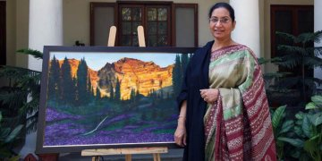 Image about Defence Minister AK Antony Bought Wife's Painting for 28 Crore
