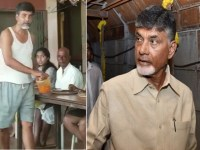 Image about Chandrababu Naidu Serving in Hotel Post Election Results