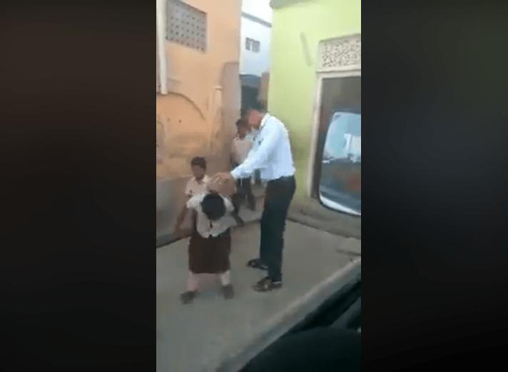 Image about Muslim Teacher Beating Hindu Girls for Not Wearing Hijab