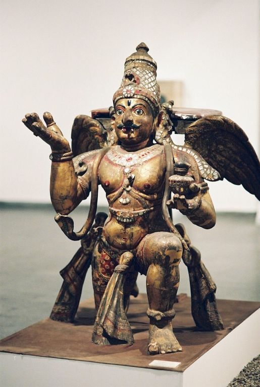 Image of Garuda in Hindu mythology