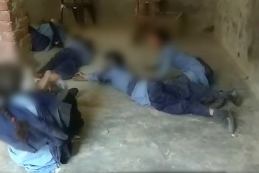 Image about Ghosts Haunt Primary School Students in India, Video