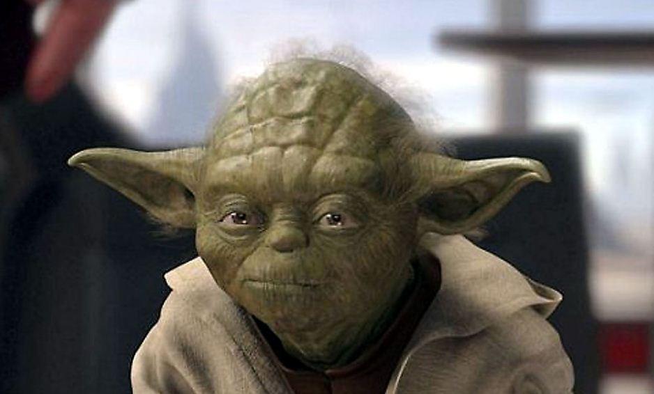Image of Yoda, Star Wars character