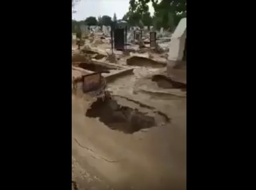 Image about Dead Rising - Empty Graves in Thailand Cemetery, Video