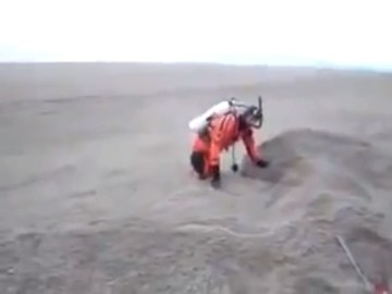 Image about Video of Sand Moving Like Water in Saudi Arabian Desert
