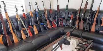 Image about Govt. Taken Over Kashmir Masjids, Lethal Weapons Seize