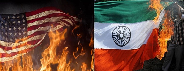 Burning National Flag in America Unlawful: Fact Check