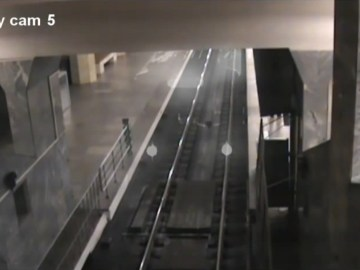 Image about Ghost Train Caught on CCTV at China Railway Station
