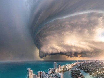 Image about Scary Video of Hurricane Dorian in Bahamas