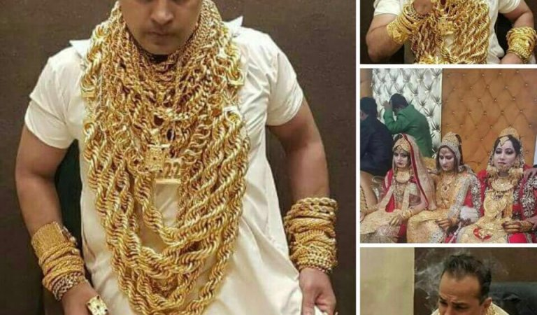Tirupati Temple Priest and Daughters Wearing Lot of Gold: Fact Check