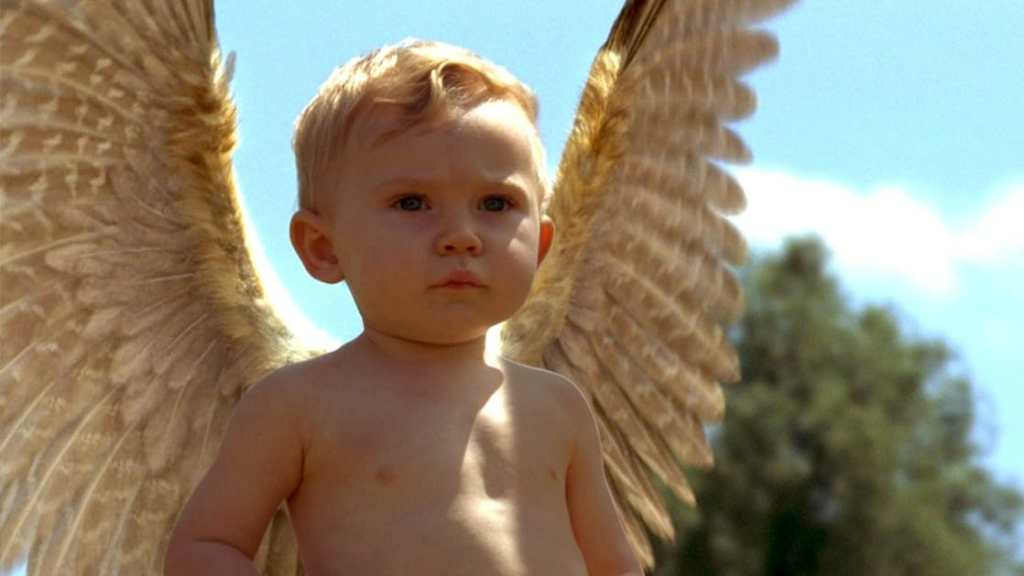 Image about Ricky develops Wings in the movie