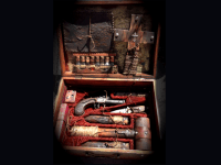 Image about Incredible Vampire Hunting Kit from Early 1800s