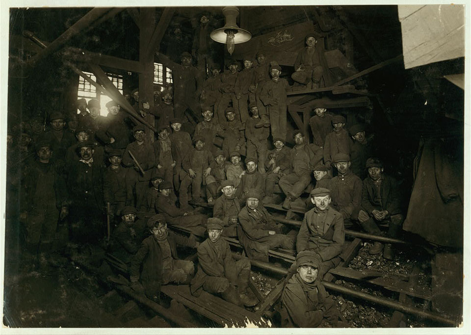 Image of Noon at Pennsylvania Coal Company's Ewen Breaker in South Pittston