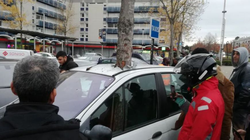 Image about Unbelievable - Tree Penetrates a Car Overnight in France