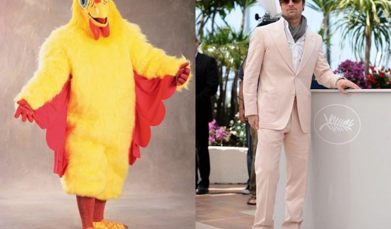 Brad Pitt Chicken Suit Mascot for El Pollo Loco: Fact Check