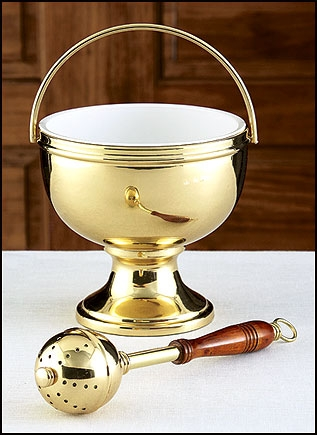 Image of A Holy water pot