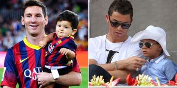 Image of Ronaldo-Messi & Their Sons Both Born 869 Days Apart