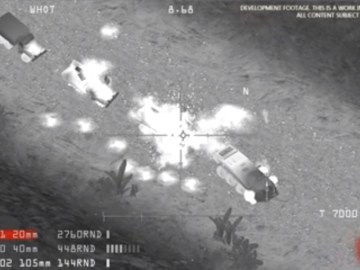 Image about Video of American Drone Attack on General Soleimani