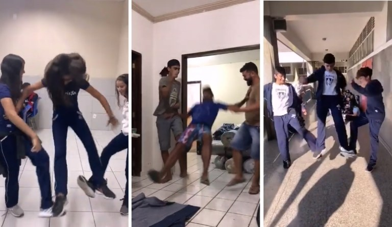Image of Beware of Tripping Jump Challenge, a Dangerous Prank