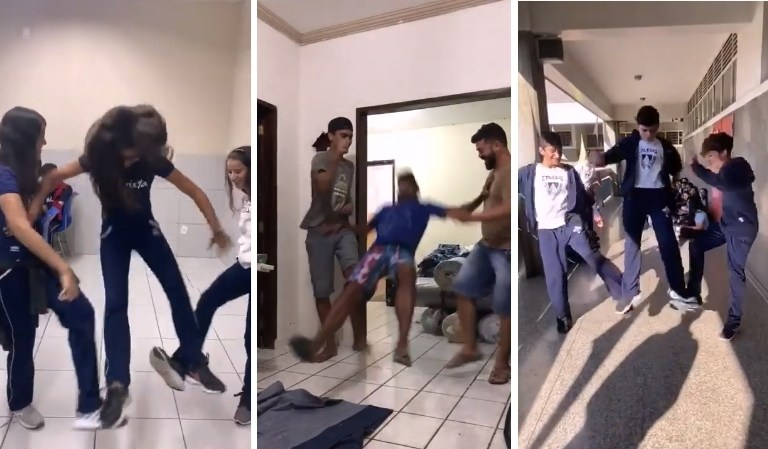 Beware of Tripping Jump Challenge, a Dangerous Prank