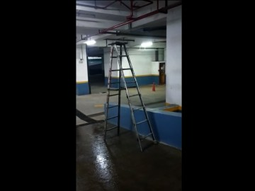 Image about Ghost Activity Video - Ladder Moving On Its Own