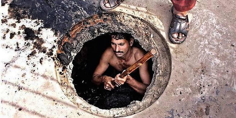 Image of Non-Muslim minorities employed for sanitary work in Pakistan