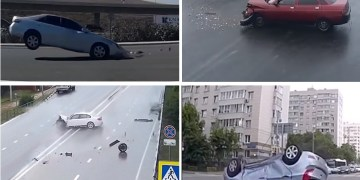 Image about Scary Ghost Car Crash, Supernatural Accidents, Video